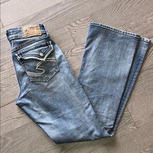 zuki  flap jeans size 28 / 32